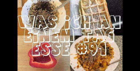 Was ich an einem Tag esse #91 – vegan